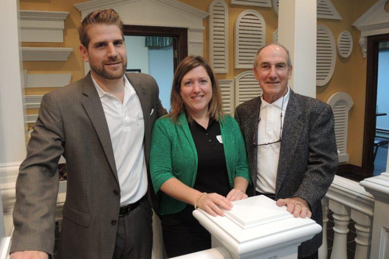 Sébastien, Isabelle et Gaetan Paiement Journal St-Francois