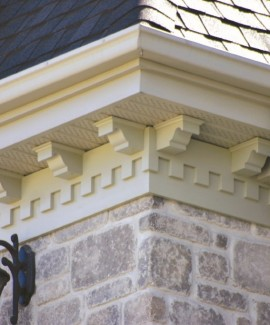 Brackets and Dentil Blocks
