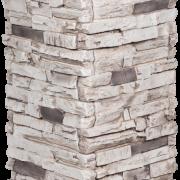 Dry Stack Stone | Charcoal - pedestal-column - 16926 - 16970 - box-of-2-en