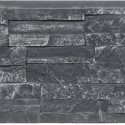 Dry Stack Stone | Charcoal - panel-48-x-12 - 16928 - 16972 - box-of-12