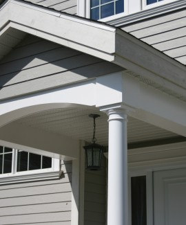 PVC Decorative Beams and Beadboard Soffits