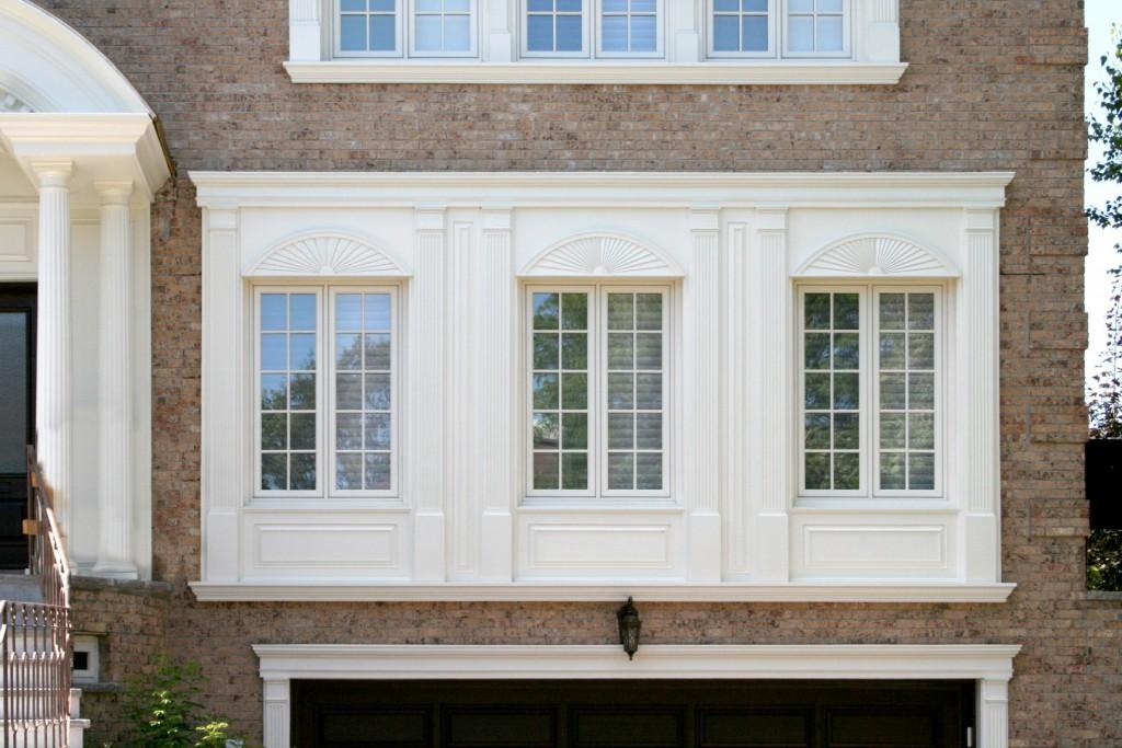 Contours de portes et fenêtres