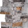 Dry Stack Stone | Burnt Slate - corner-12-x-24 - 16920 - 16964 - box-of-3