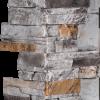 Pierres sans joints | Ardoise brûlée - coin-12-x-24 - 16830 - 16868 - boite-de-3