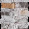 Pierres sans joints | Ardoise brûlée - coin-facile-6-x-24 - 16834 - 16872 - boite-de-4