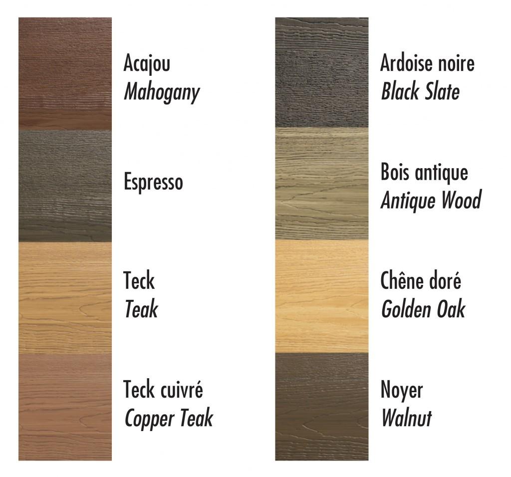 Faux wood stain_Couleur de teintures