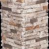 Pierres sans joints | Mocha - piedestal-de-colonne - 16836 - 16874 - boite-de-2